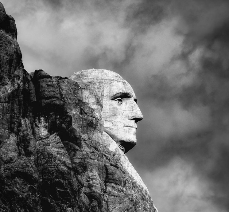 George Washington, Mount Rushmore (Photo by Todd Trapani from Pexels)
