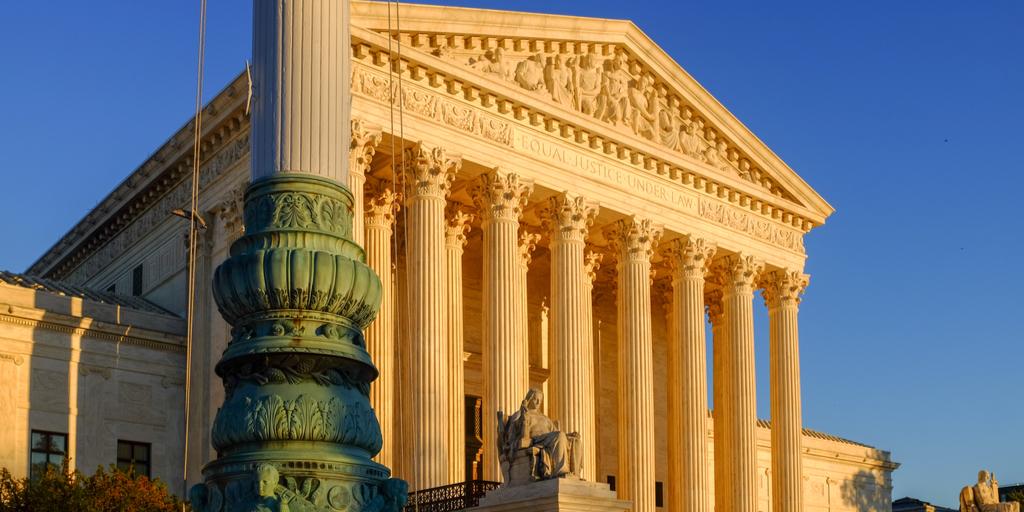 Supreme Court Dusk