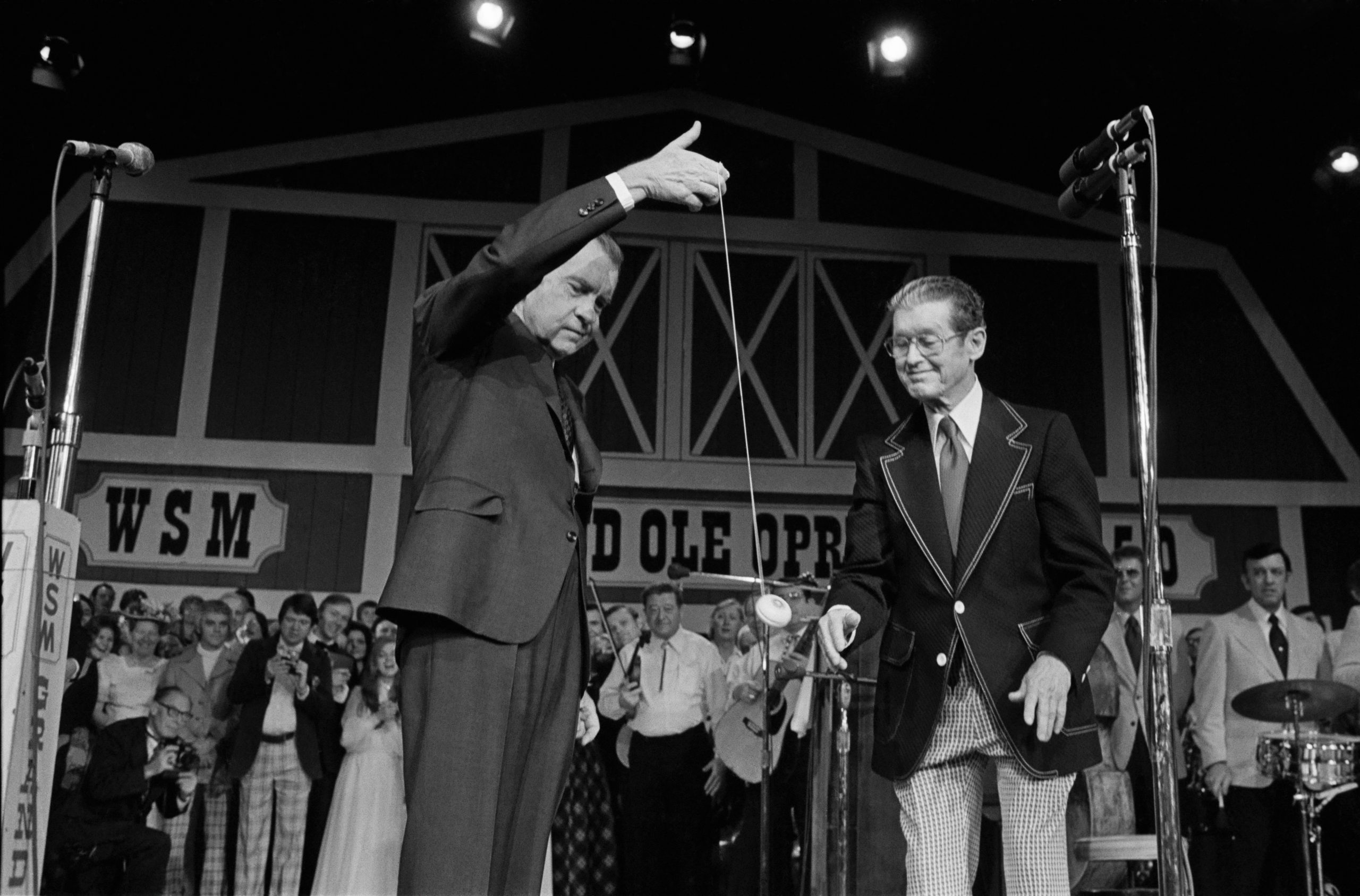 Richard Nixon opens the new Grand Ol Opry