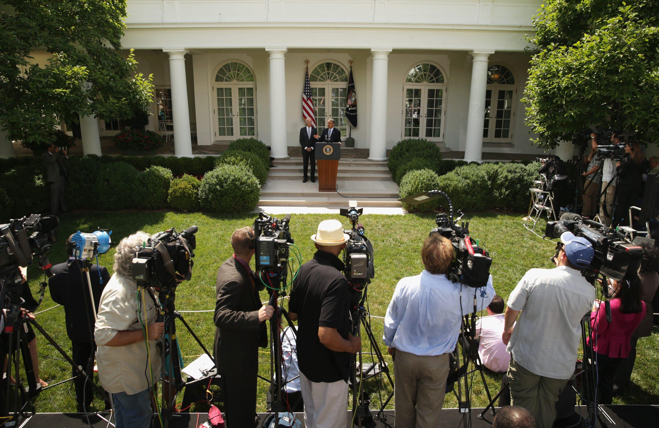 President Obama Delivers Statement On Immigration Reform