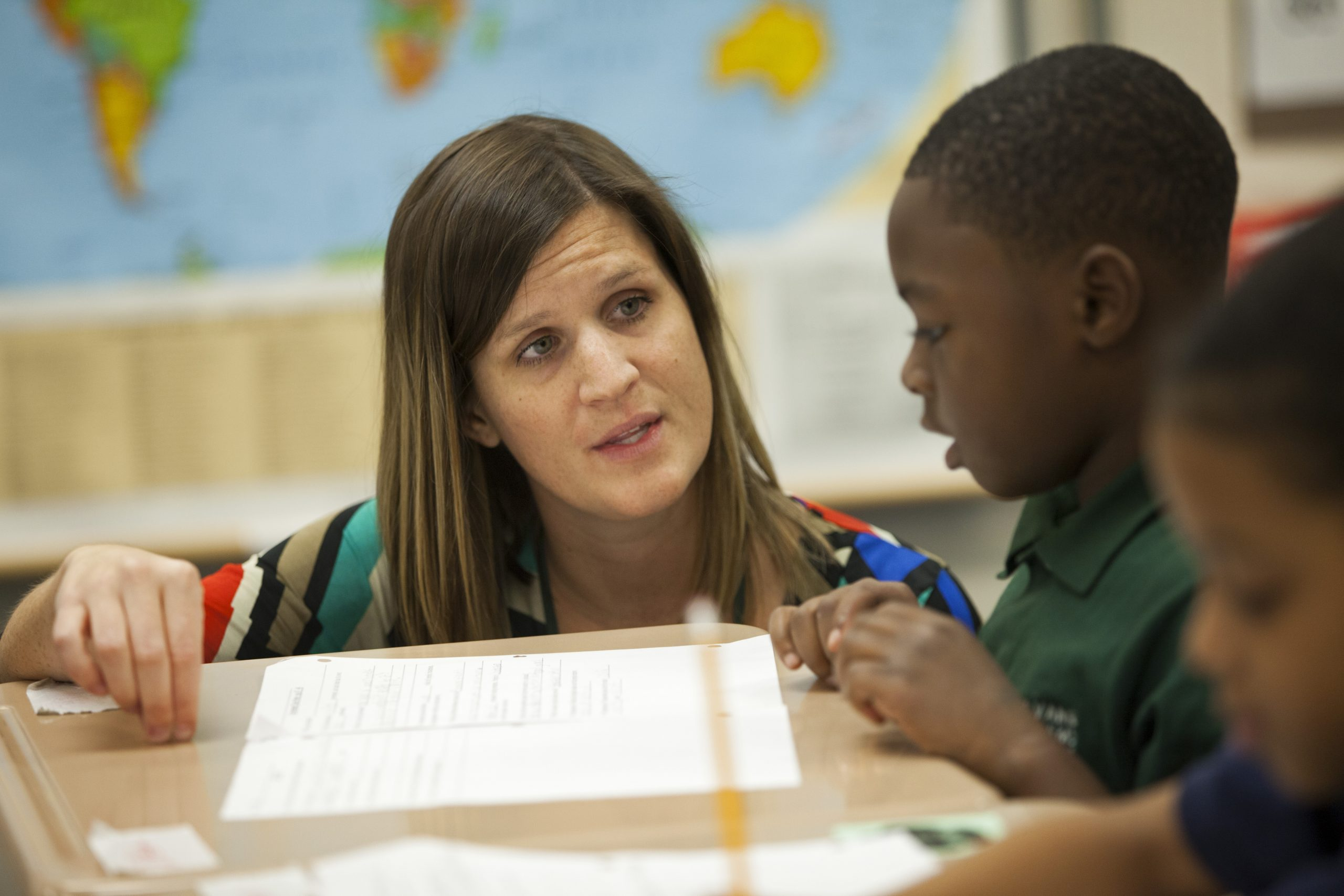 New Orleans charter school's new principal works to improve reading and math skills
