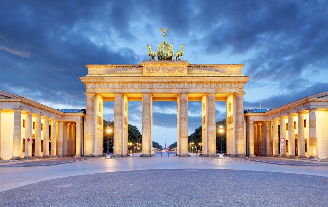 Berlin – Brandenburg Gate at night