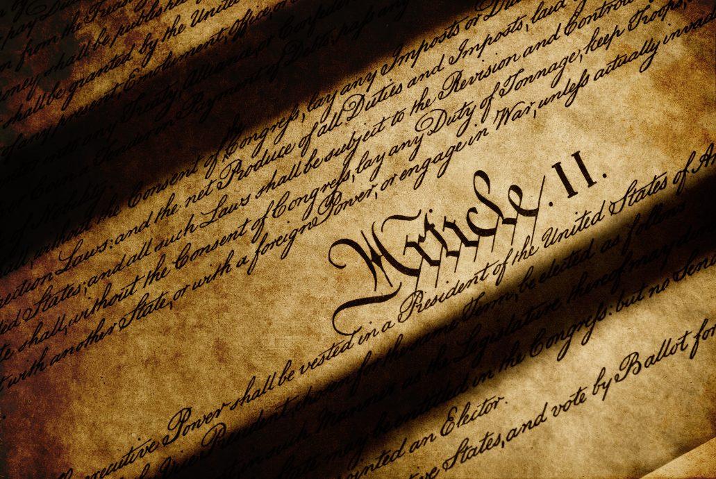 Declaration of Independence Artice Grunge Background