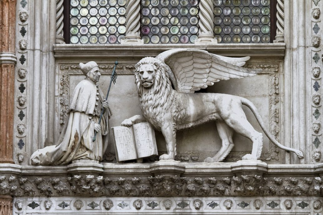 Doge And Lion Venice