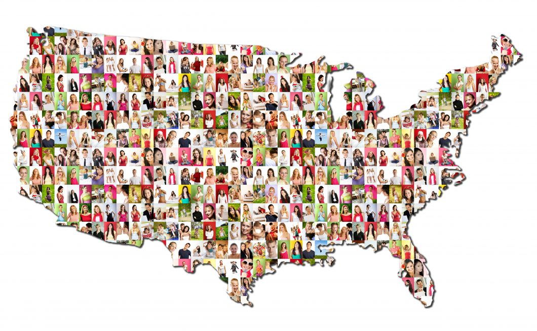 Portraits of a lot of people – United States of America