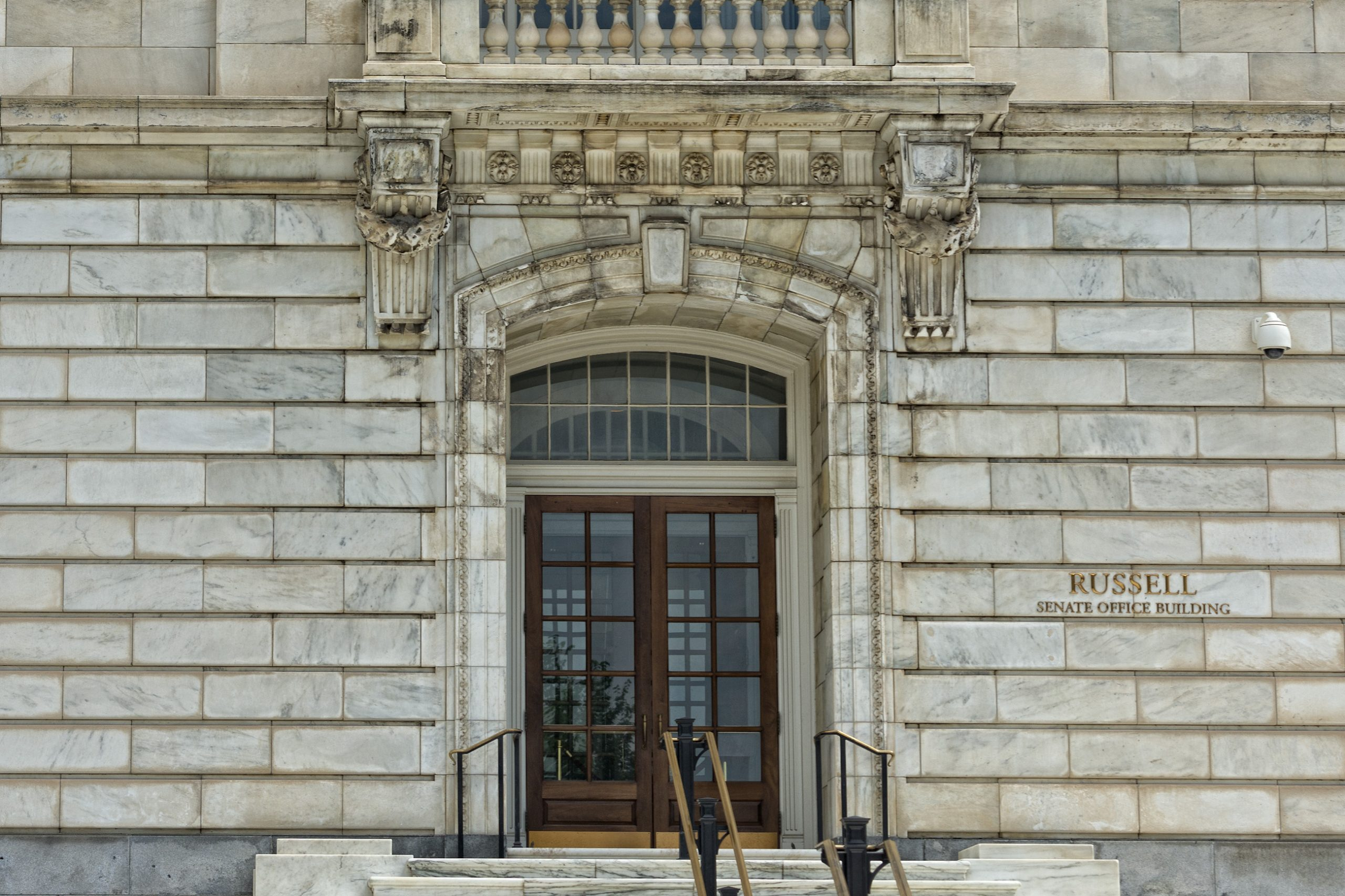 Entrance of the Russell Senate Office Building