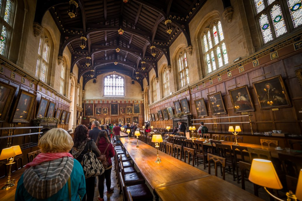 Christ Church's great hall