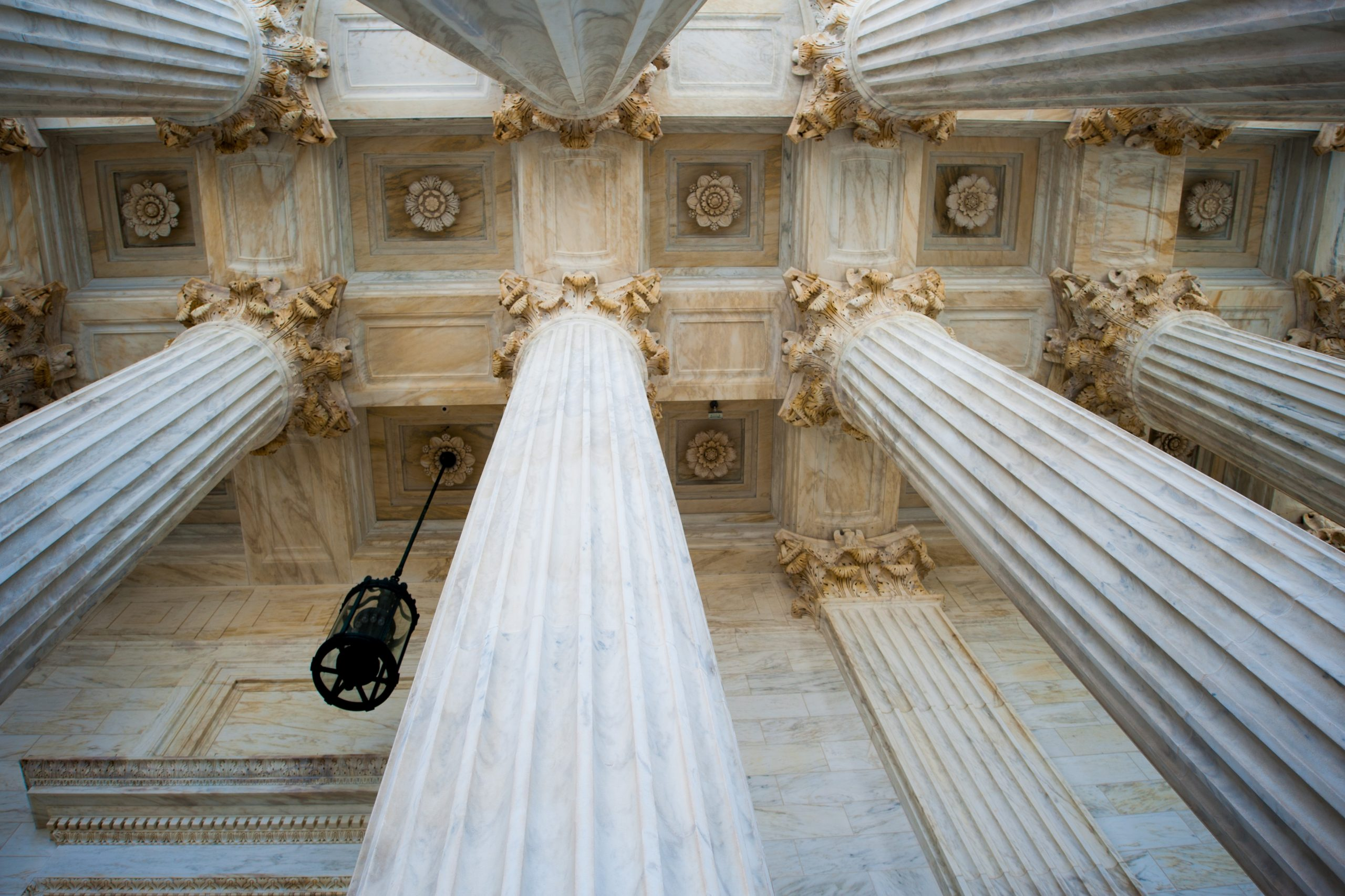Columns at the U.S. Supreme Court