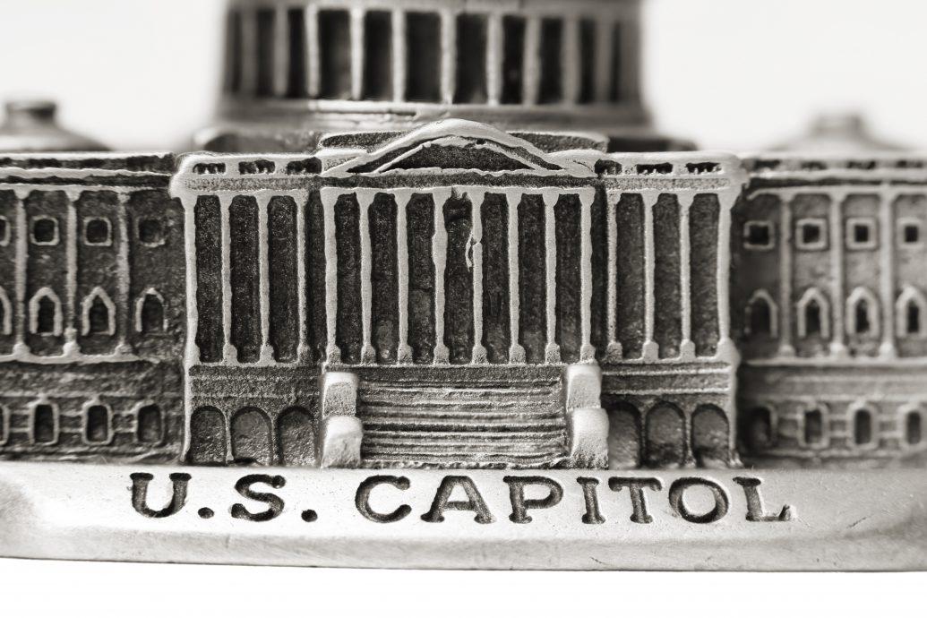 US Capitol die cast model