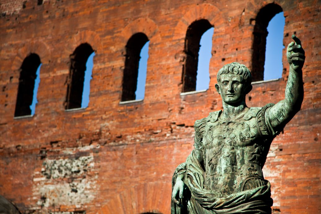 The leader: Cesare Augustus – Emperor