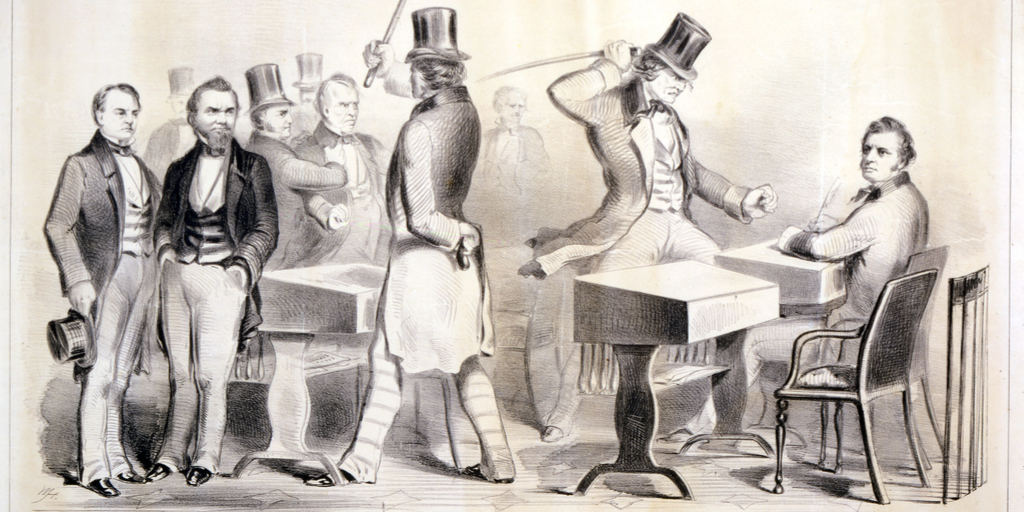 Argument of the Chivalry – Caning of Sumner