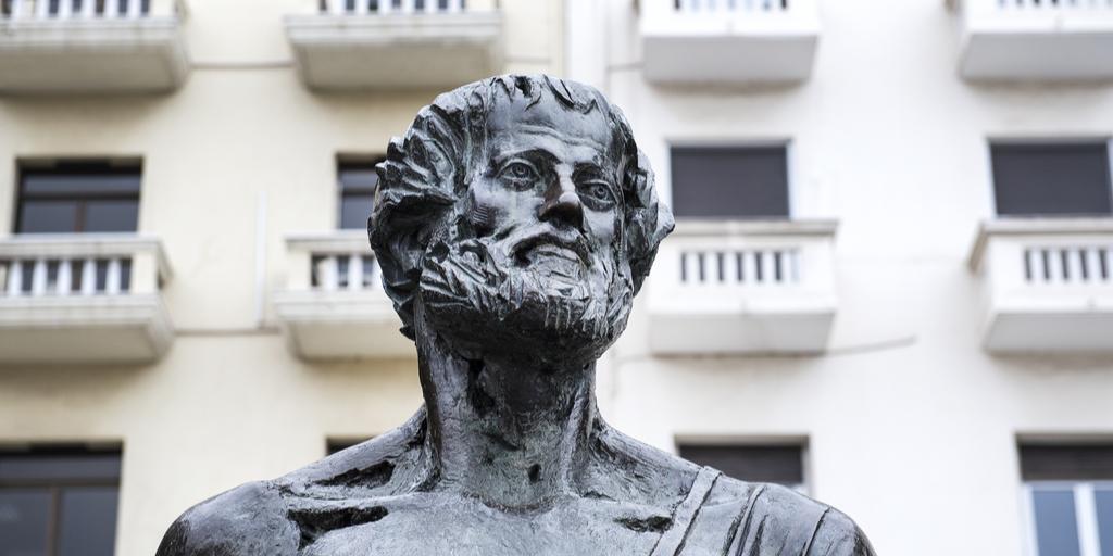 Aristotle statue 2