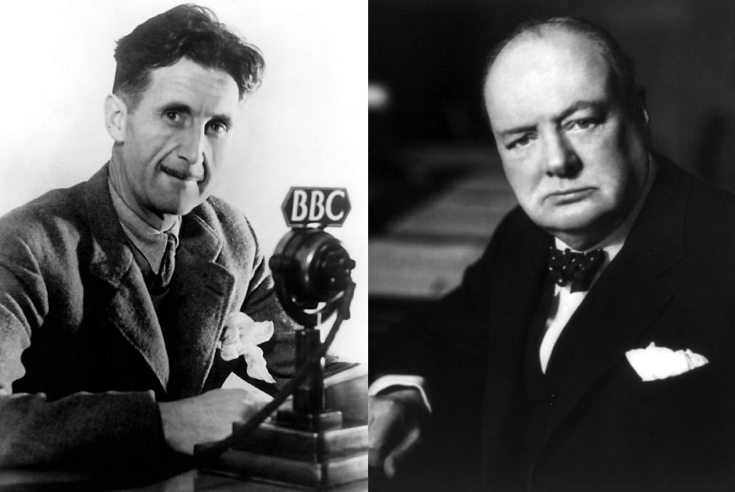 Churchill-Orwell