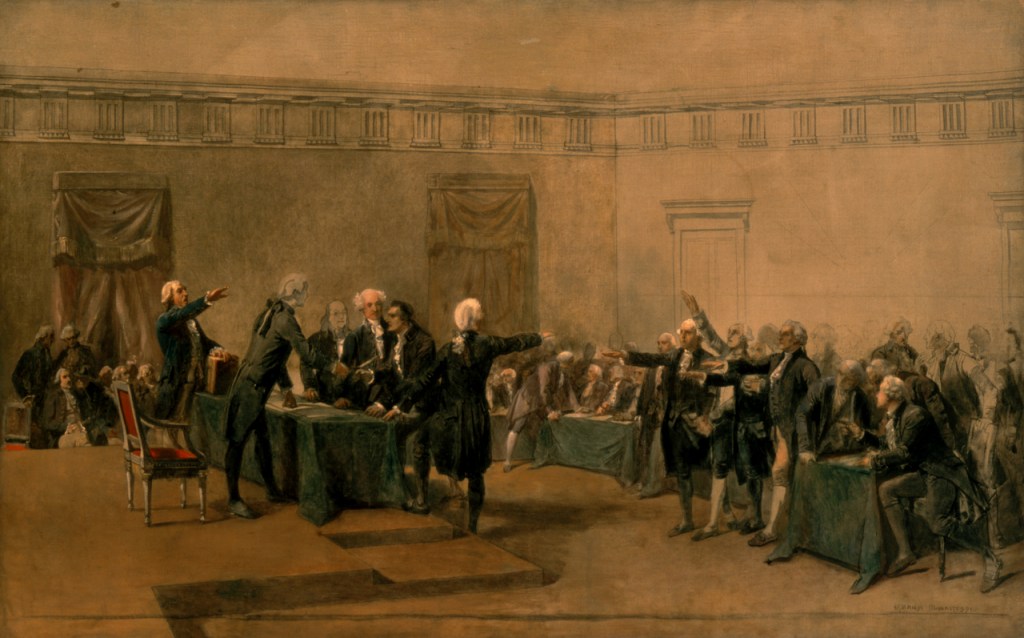 The Declaration of Independence of the United States of America, by Armand-Dumaresq, (c. 1873)