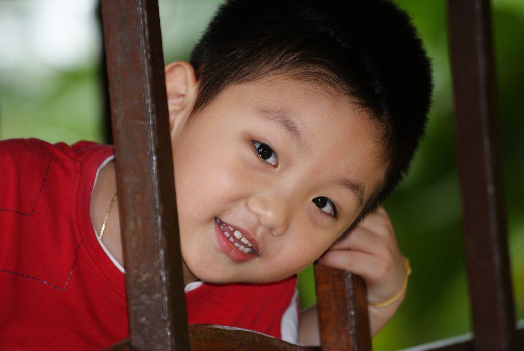 Chinese Boy Portrait