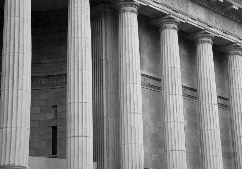 Courthouse Pillars