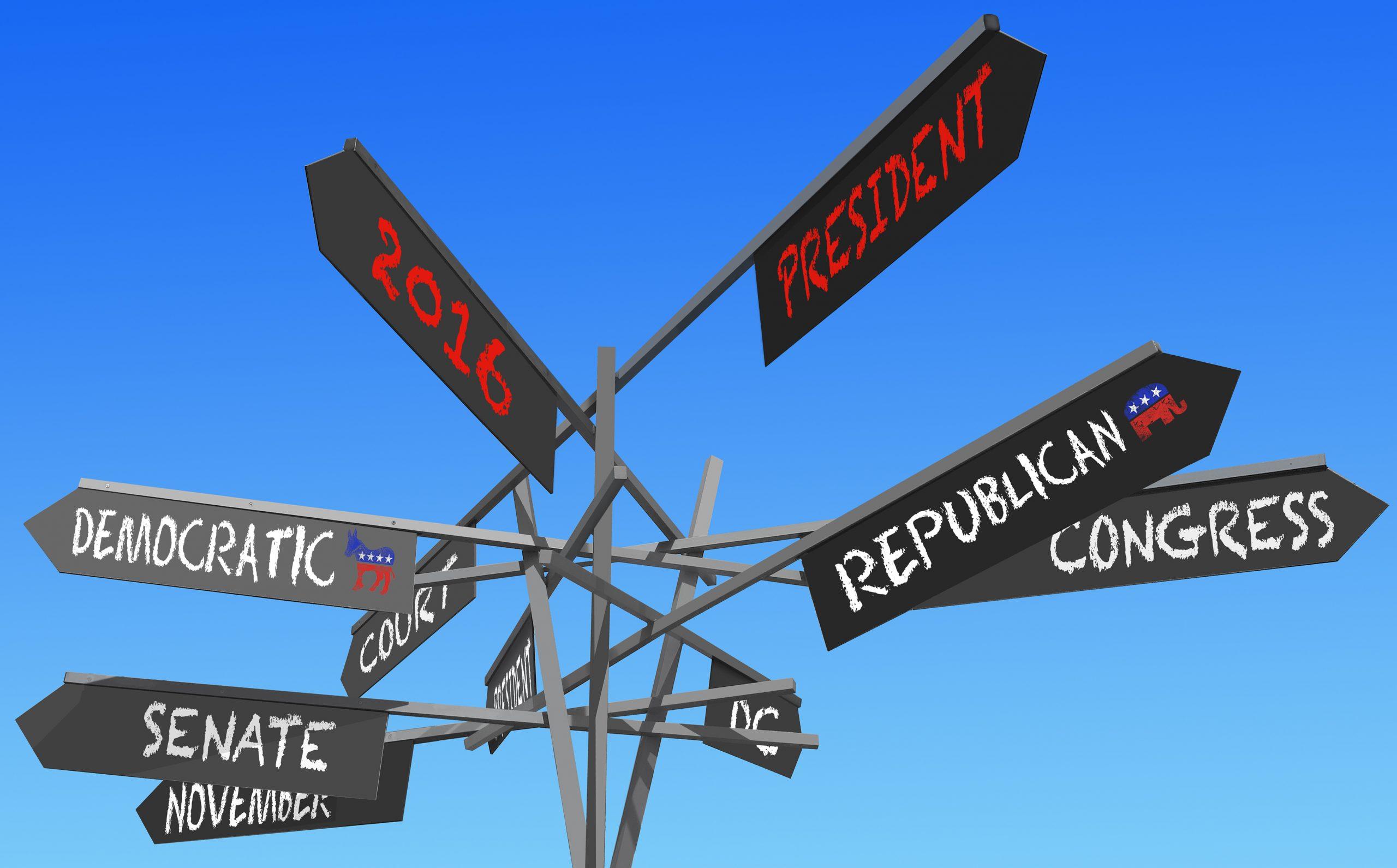 elections 2016 conceptual post