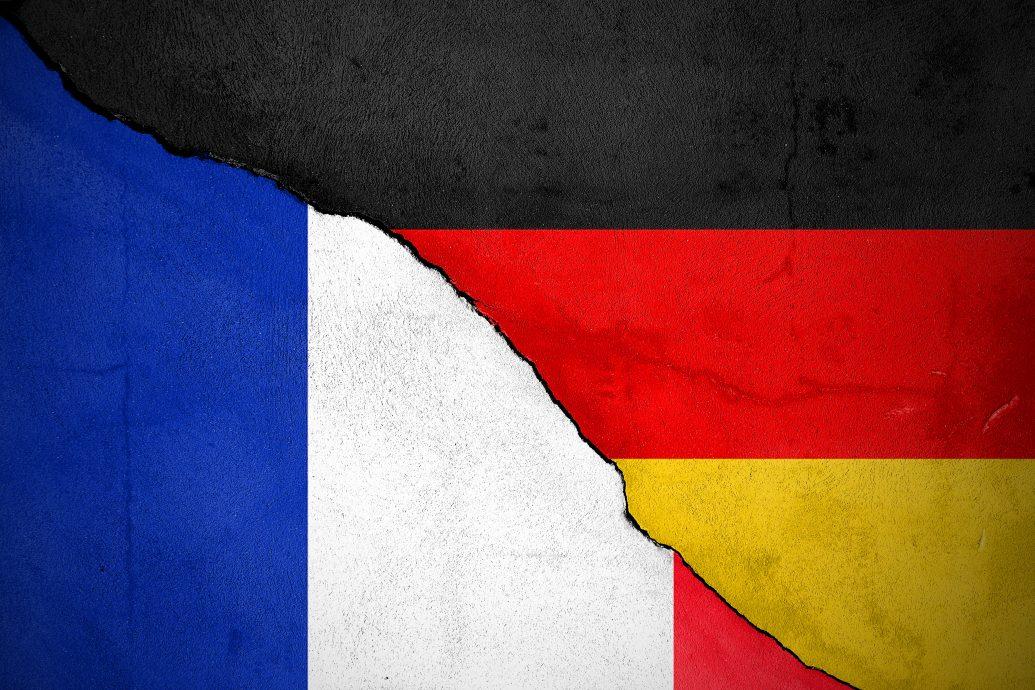 Riss zwischen Frankreich und Deutschland