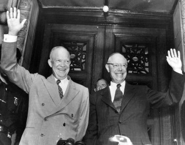 Eisenhower and Taft