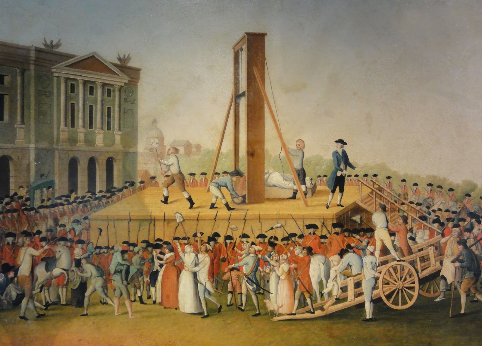 The Execution of Queen Marie-Antoinette on October 16, 1793.