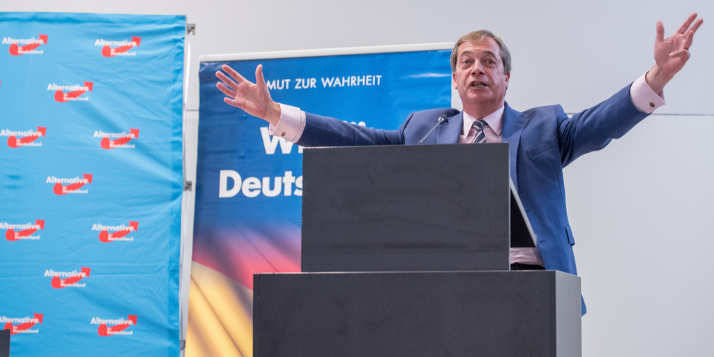 Farage in Germany