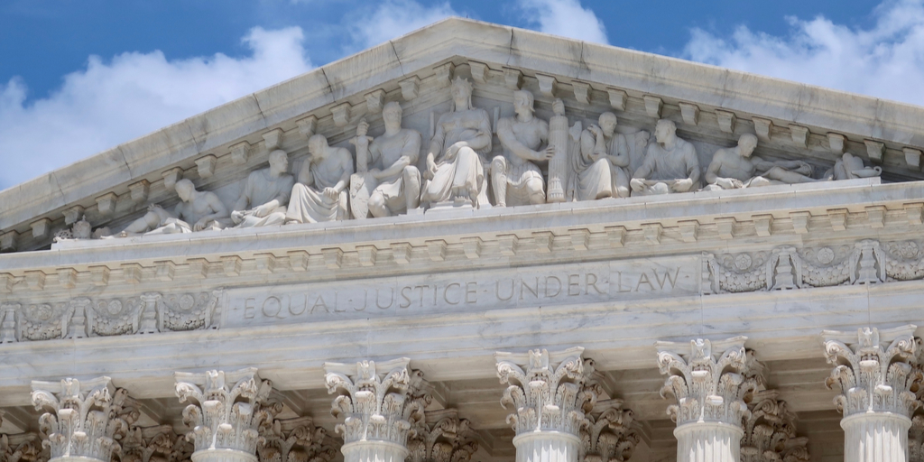 Frieze on US Supreme Court