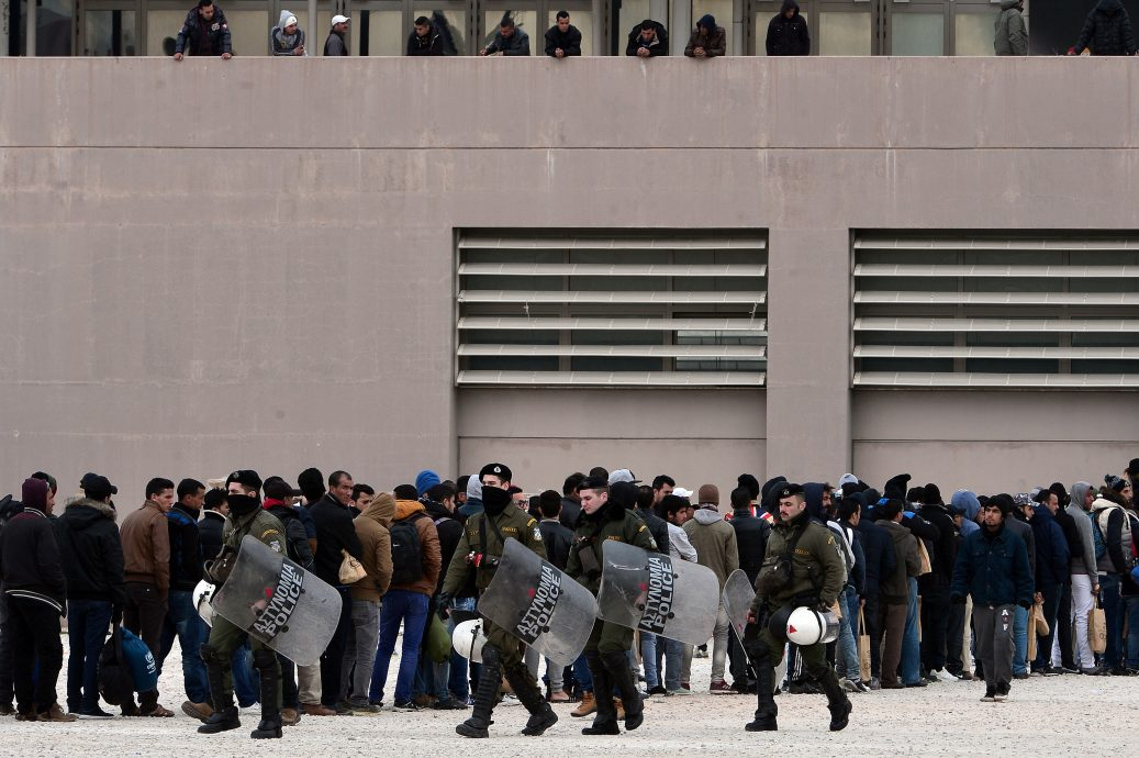 GREECE-EUROPE-MIGRANTS-RIGHTS