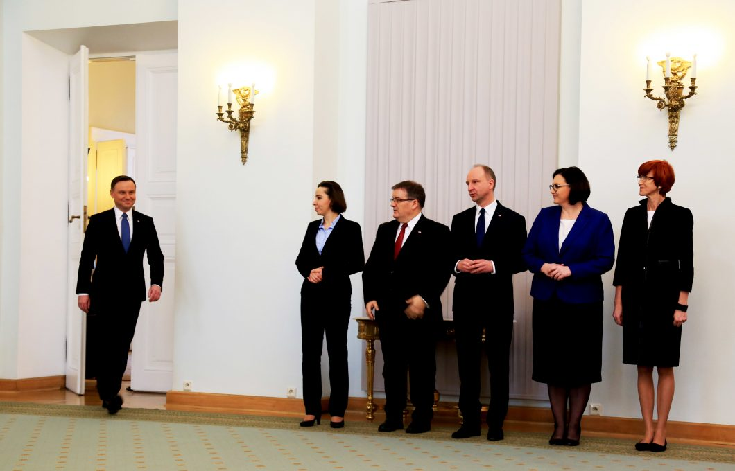 Polish President Andrzej Duda announced his decision