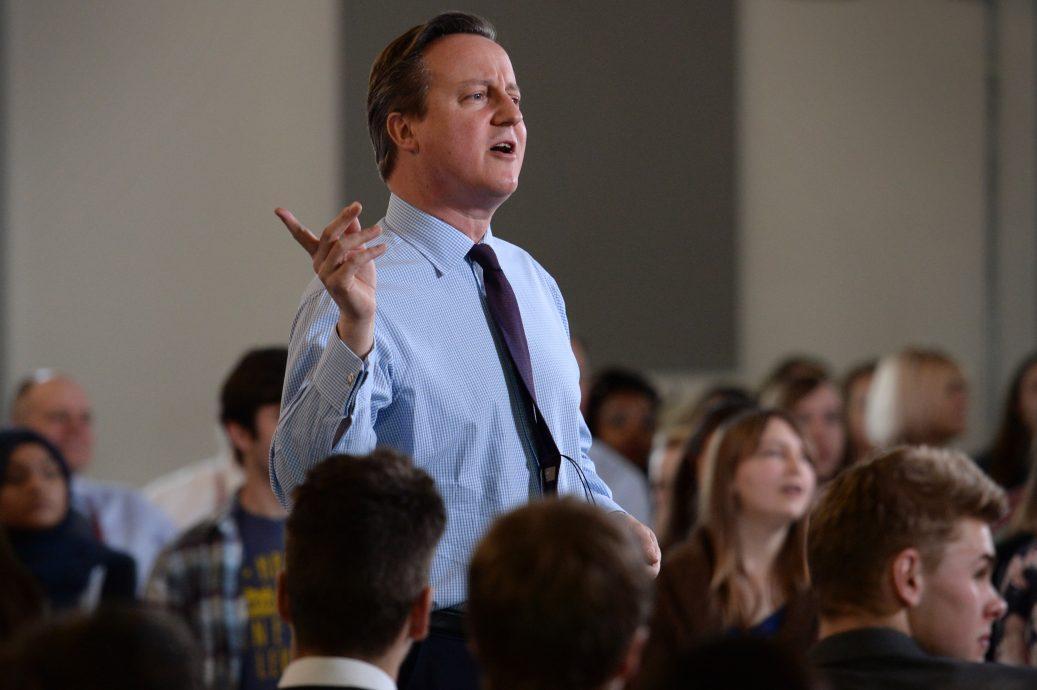 David Cameron Holds A Q&A Session On The EU Referendum