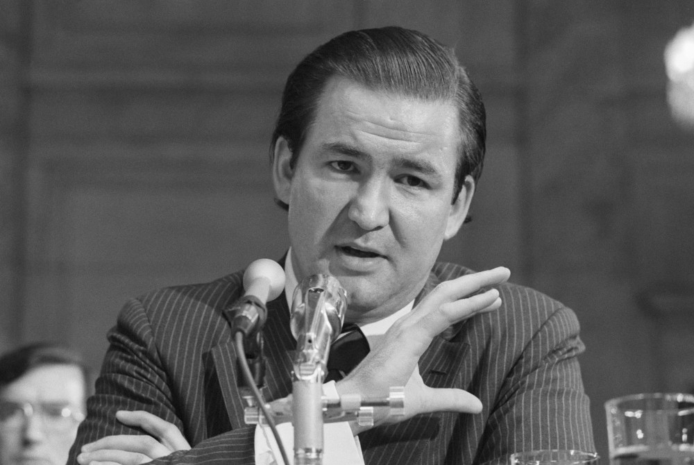 Pat Buchanan Testifies at Watergate Hearings
