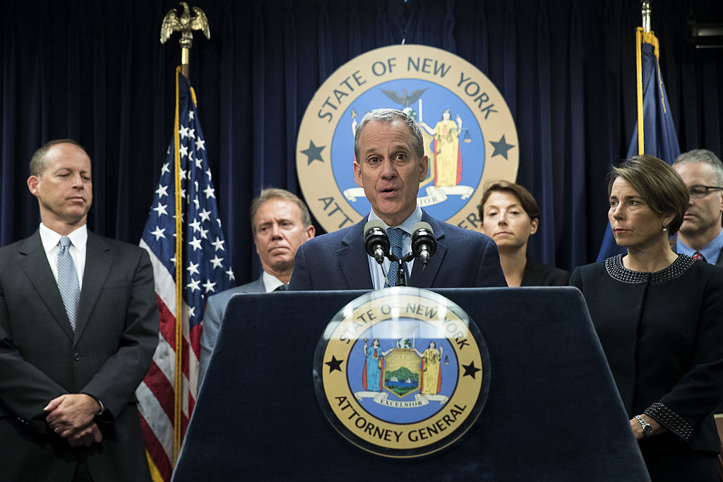 New York And Massachusetts Attorney Generals Announce Lawsuit Against Volkswagen