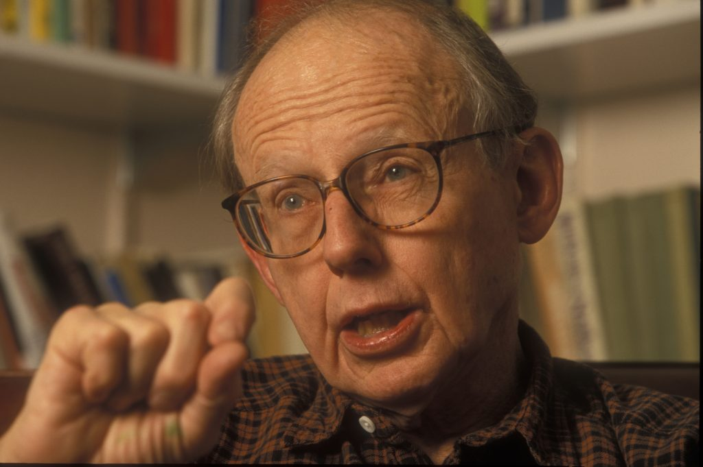 Professor Samuel Huntington photographed in his office at Harvard University. (Rick Friedman/Corbis via Getty Images)