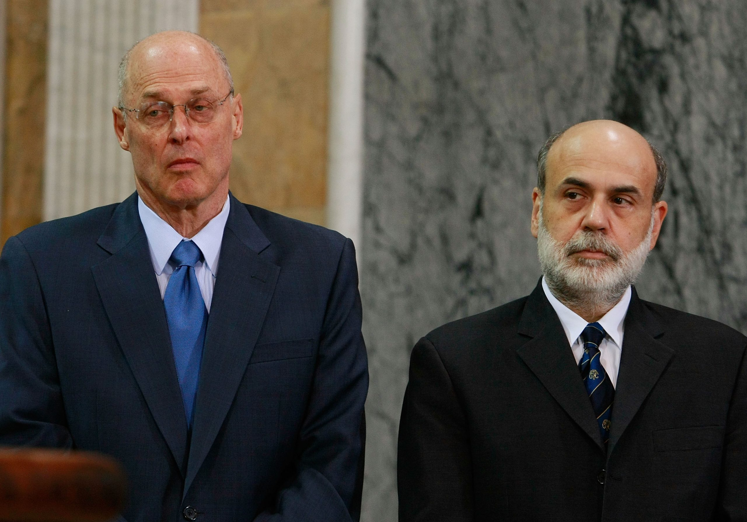 Paulson, Bernanke, And FDIC Chairman Make Statement On Financial Markets