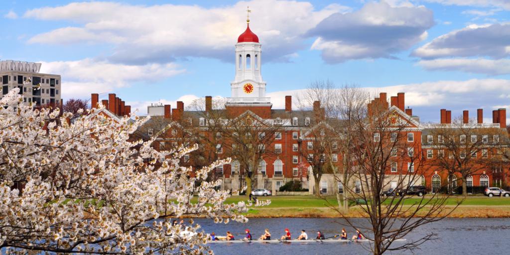 Harvard in Spring
