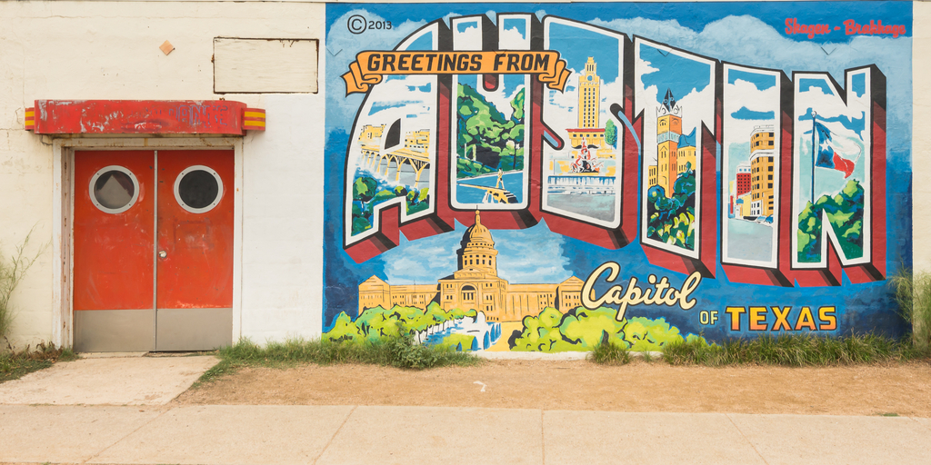 Historic Mural in Austin TX