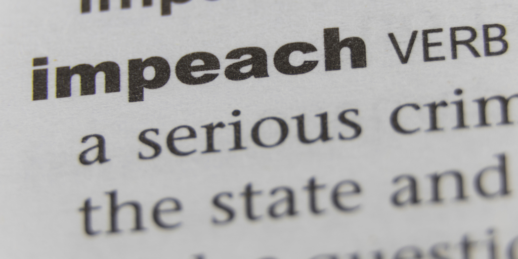 Impeach text
