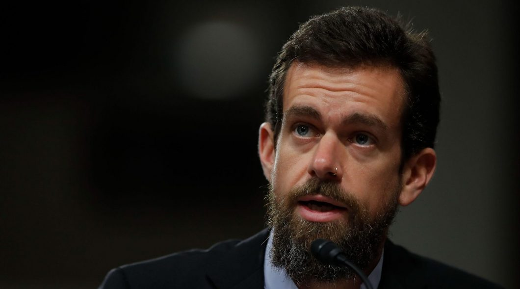 Washington, DC, DC, USA. 5th Sep, 2018. Twitter CEO Jack Dorsey testifies before the Senate Intelligence Committee on Capitol Hill in Washington, DC, the United States on Sept. 5, 2018. Credit: Ting Shen/Xinhua/Alamy Live News