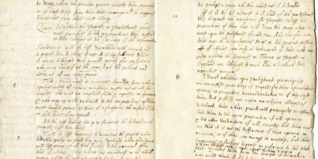 John Locke Manuscript 2