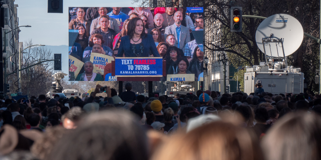 Kamala Harris rally