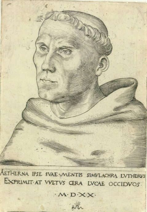 Luther-As-Monk