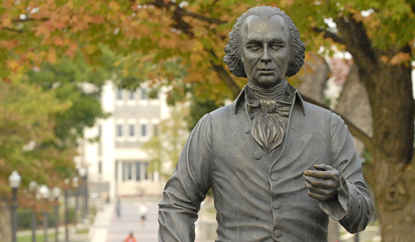 Madison statue