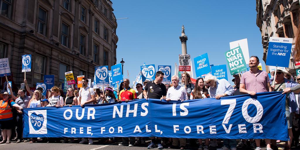 NHS rally