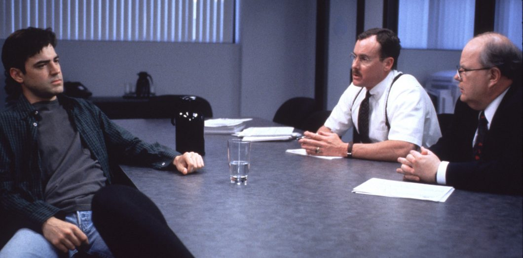 """Film Still / Publicity Still from """"Office Space"""" Ron Livingston, John C. McGinley, & Paul Willson © 1999 20th  Photo Credit: Van Redin   File Reference # 30973503THA  For Editorial Use Only –  All Rights Reserved"""