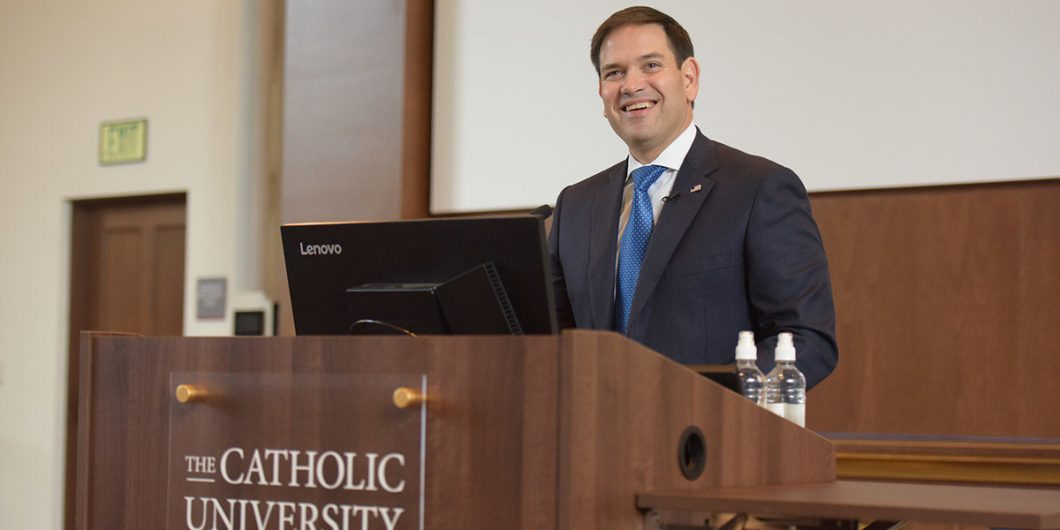 Rubio at CUA