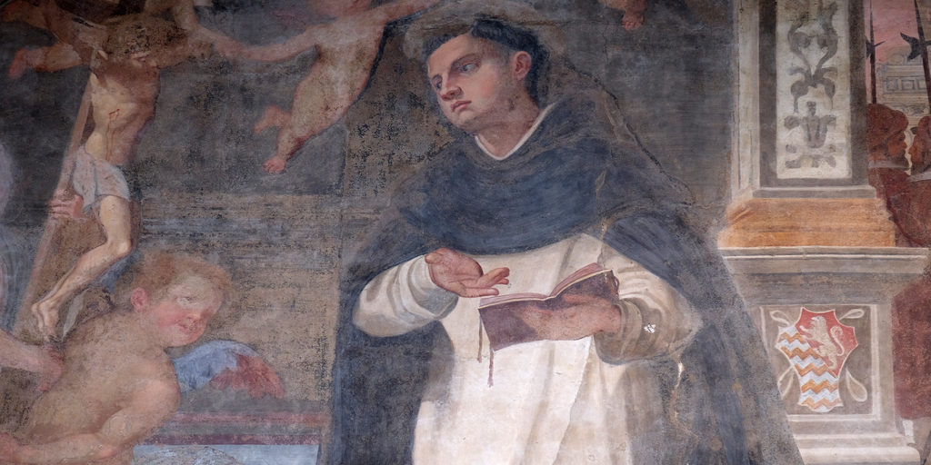 Thomas Aquinas fresco