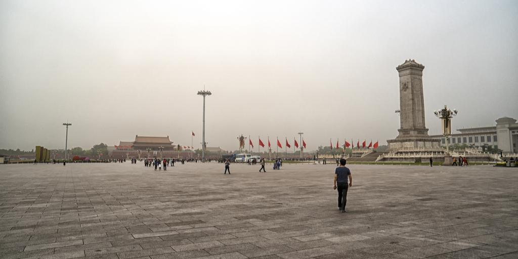 Tiananmen one