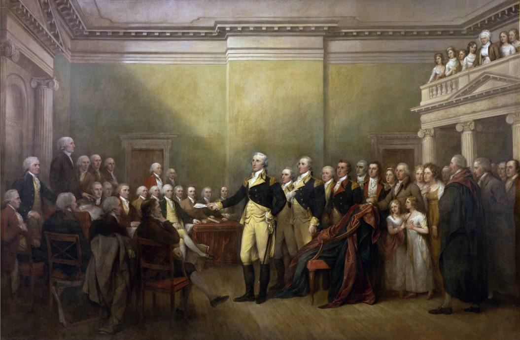 Washington-resigning-commission-1783