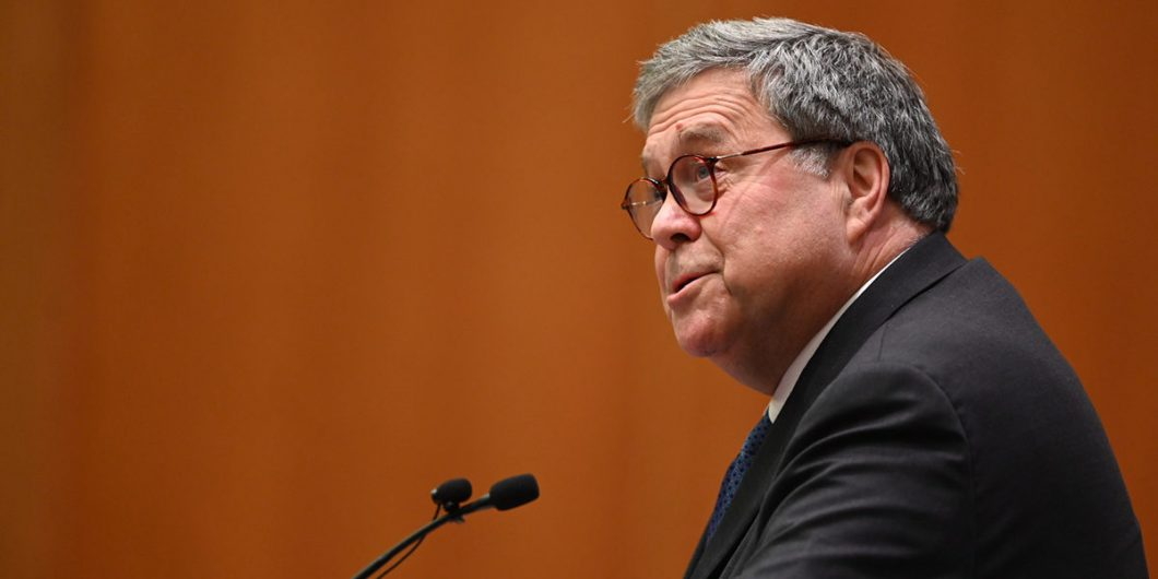 William Barr at Notre Dame