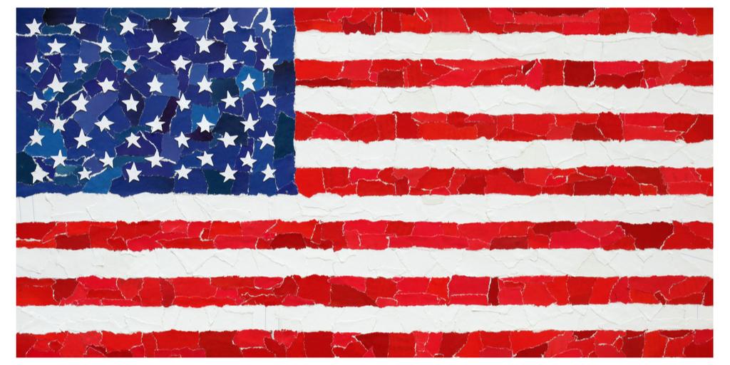 american flag full