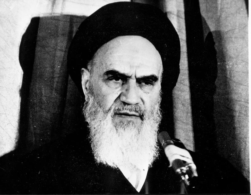 Jan 13, 1979; Tehran, Iran; AYATOLLAH KHOMEINI (1900-1989), founded the first modern Islamic republic, became a Shi'a Muslim